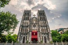 Saint Joseph Cathedral, A Roman Catholic Cathedral In Hanoi Viet