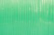 Leinwanddruck Bild - Green metal sheet