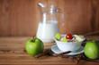 cereals breakfast apples spikelets