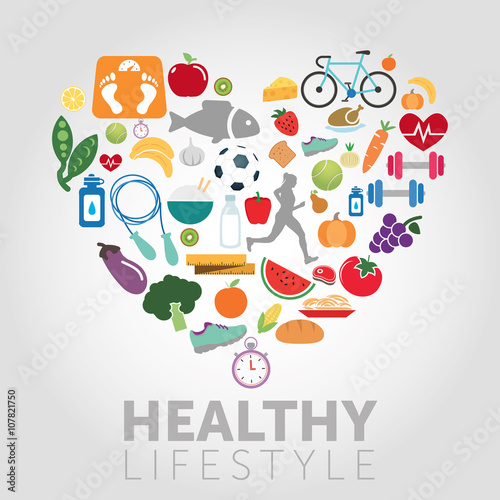Láminas  Healthy Lifestyle Background