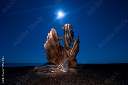 Obraz na płótnie The Scallop Aldeburgh