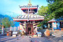 Tal Barahi Temple Of Phewa Lake Pokhara,Nepal