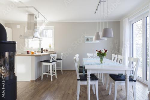 Valokuva Küche im Ferienhaus