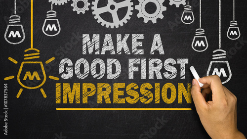 Canvas-taulu Make a Good First Impression