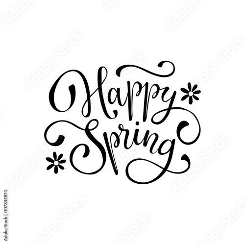 Fotografie, Obraz  Spring time wording