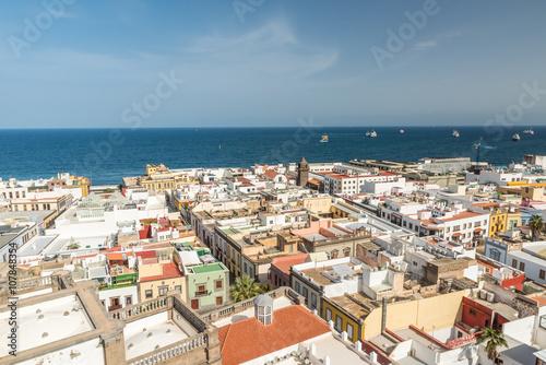Poster Historical and beautiful citiy Las Palmas de Gran Canaria