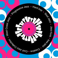 Obraz na Plexijazz and blues music record