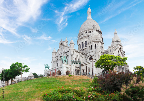 Photo  Sacre Coeur church, Paris
