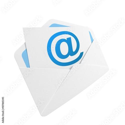 Fotografía  E-mail concept