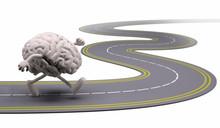 Human Brain That Runs In The Street