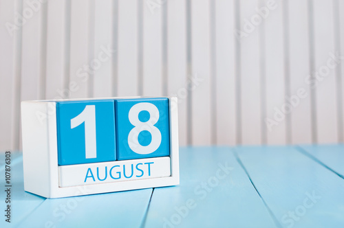 August 18th Wallpaper Mural