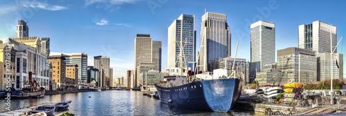 Fototapety, obrazy: Canary Wharf, London