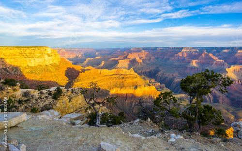 Keuken foto achterwand Rood traf. Amazing view of the grand canyon national park, Arizona. It is one of the most remarkable natural wonders in the world.