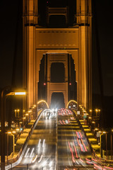 Fototapeta Mosty golden gate bridge in the night