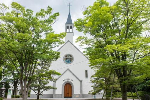 Staande foto Temple 教会