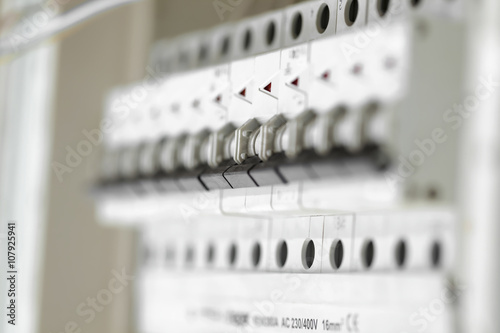Fotografie, Obraz  electrical panel houses