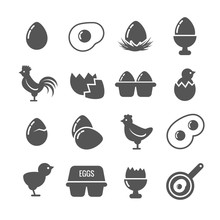 Egg Vector Icons