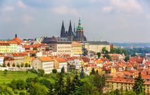 View Of Prague Castle - Czech Republic