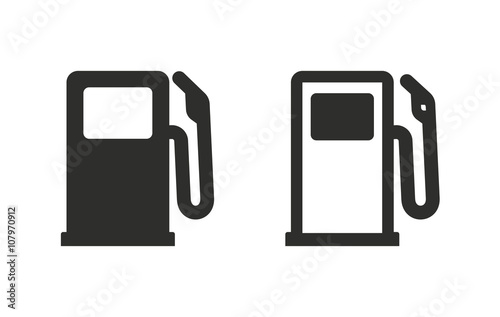 Tablou Canvas Fuel - vector icon.