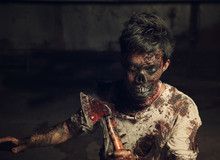 Zombie In The Haunted School