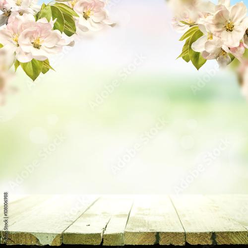 Obraz wiosenne tło - fototapety do salonu