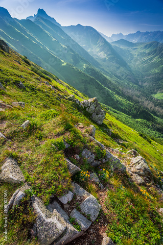 Fototapety, obrazy: Beautiful dawn in the Tatras mountains