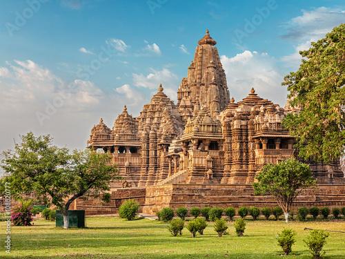 Photo  Famous temples of Khajuraho
