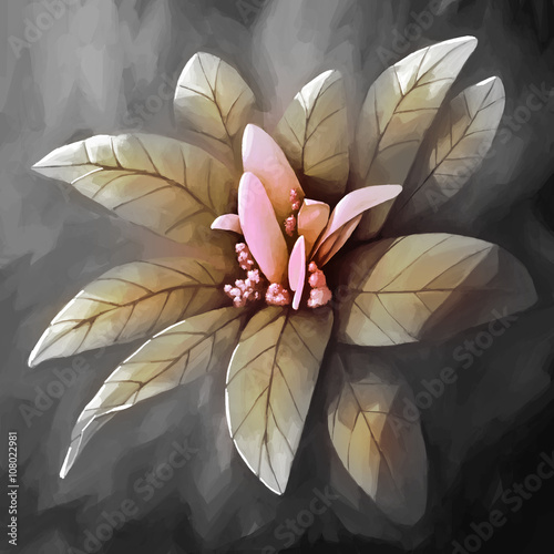 painting still life flower  - 108022981