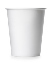 Takeaway Paper Cup Isolated On...