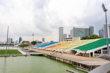Pogled na stadiu u Singapuru