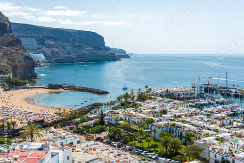 Tuinposter Canarische Eilanden Beautiful City Puerto Mogan in Gran Canaria - Spain