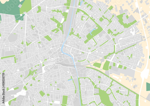 Photo vector city map of Apeldoorn, Netherlands