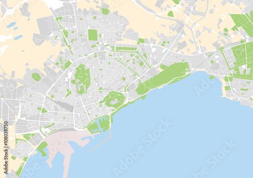 mapa-miasta-alicante-hiszpani