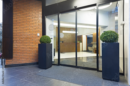 Fototapeta Hotel entrance