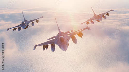 Fighter jets Canvas Print