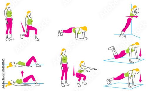 Fotografie, Obraz  Basic Exercises