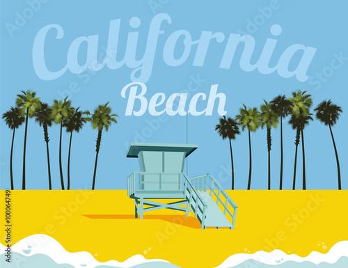 Plakat los angeles california