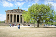 The Parthenon In Nashville Ten...