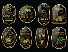 Olive Oil Retro Vintage Background Collection
