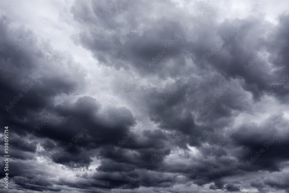 Fototapeta storm cloud