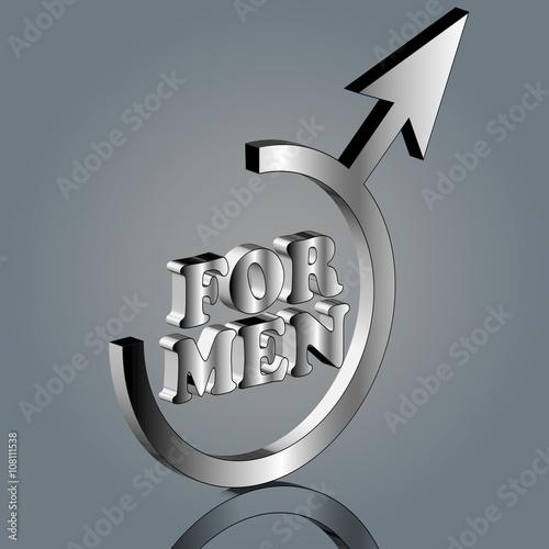 Fotografie, Obraz  for men 3d