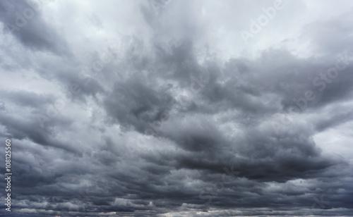 Fotomural Cloudy sky, close storm