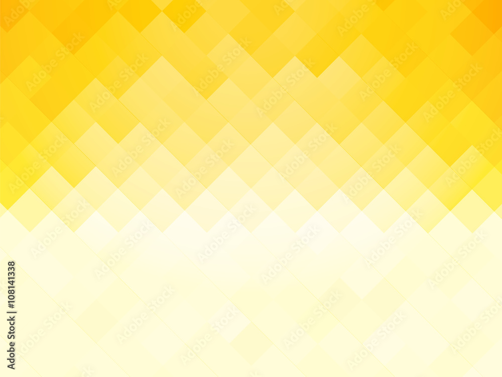Fototapety, obrazy: abstract tile yellow background