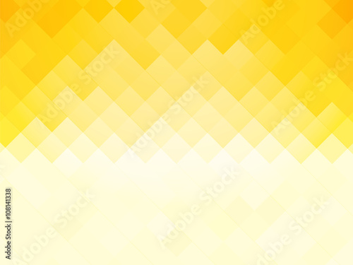 abstract tile yellow background