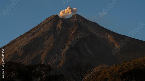 Obraz na płótnie wulkan Colima
