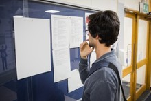 Student Reading Notice Board