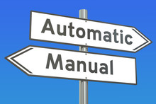 Automatic Or Manual Concept, 3...