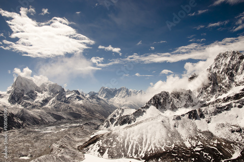 Wall mural - Gokyo Ri Mountains - Nepal
