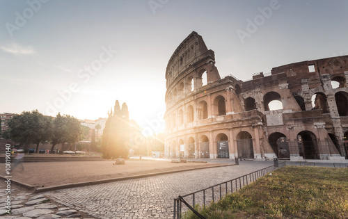 Printed kitchen splashbacks Historical buildings Great Colosseum, Rome, Italy