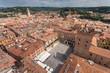 Colorful panoramic view of Verona